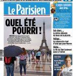 Le Parisien Du Mercredi 16 Août 2017