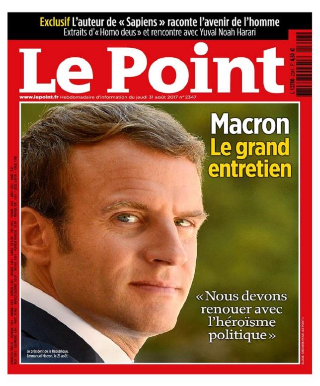 Le Point N°2347 Du 31 Août 2017