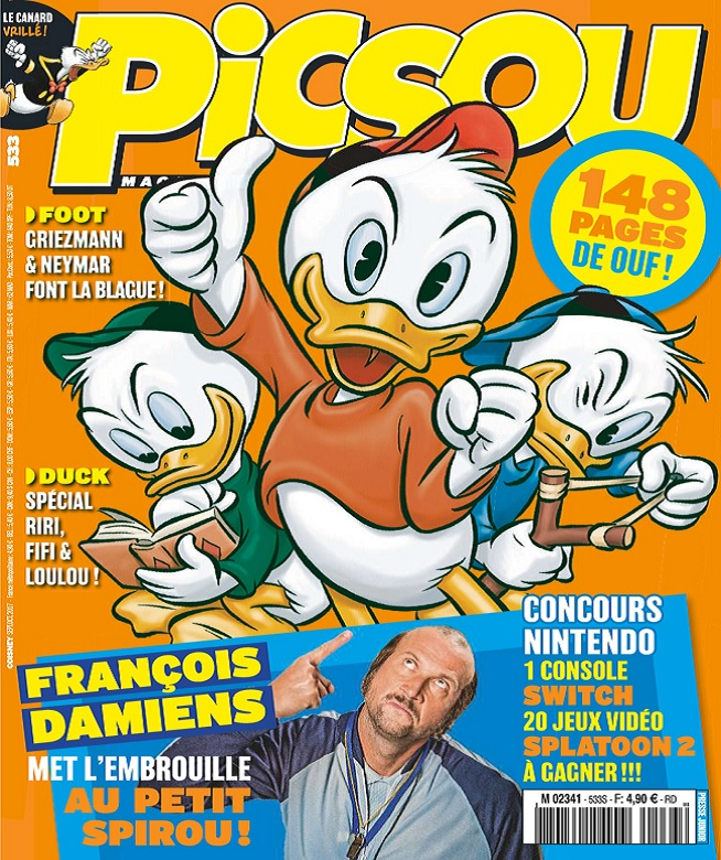 Picsou Magazine N°533 – Septembre-Octobre 2017