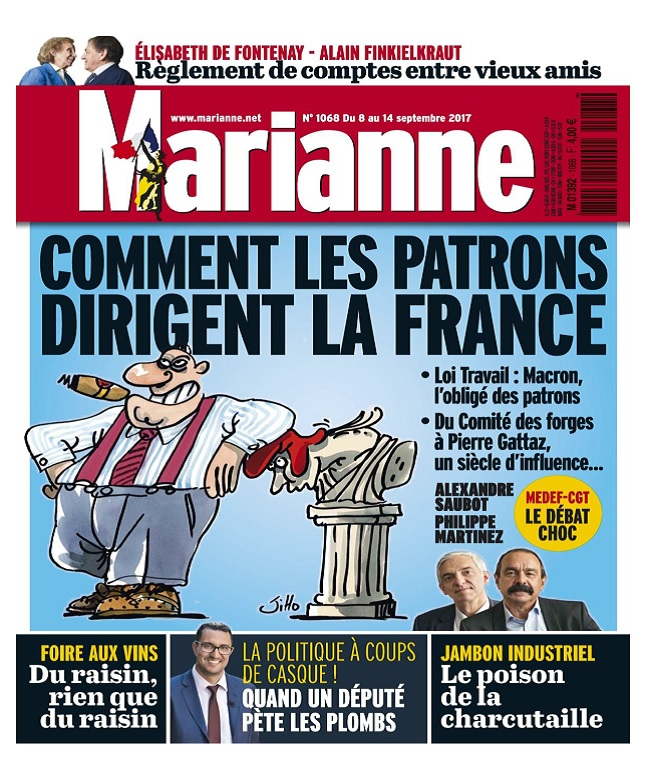 Marianne N°1068 Du 8 au 14 Septembre 2017