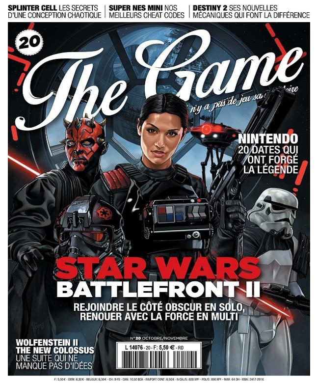 The Game N°20 – Octobre-Novembre 2017