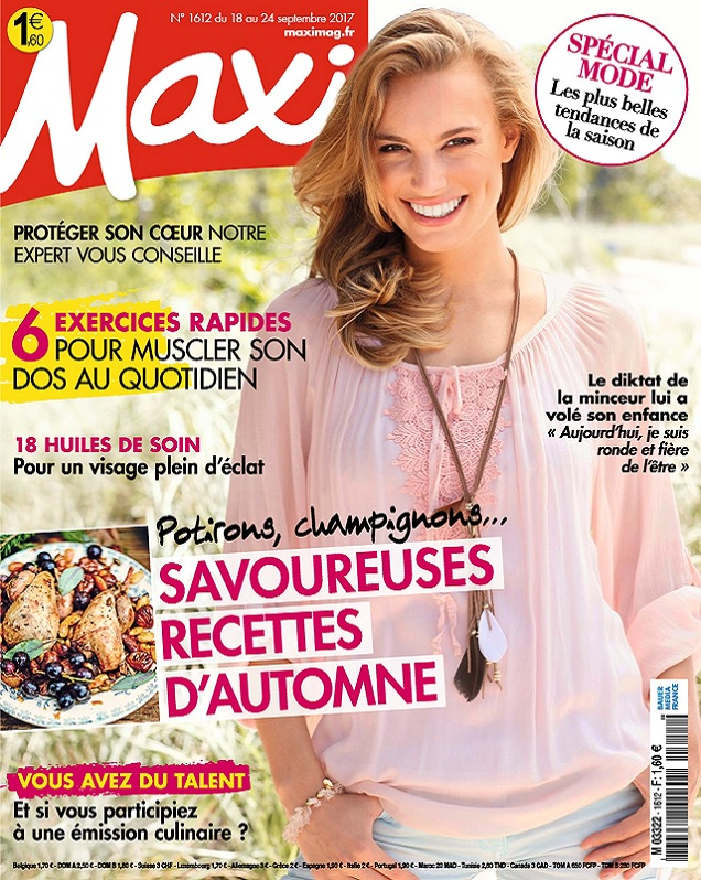 Maxi N°1612 Du 18 au 24 Septembre 2017