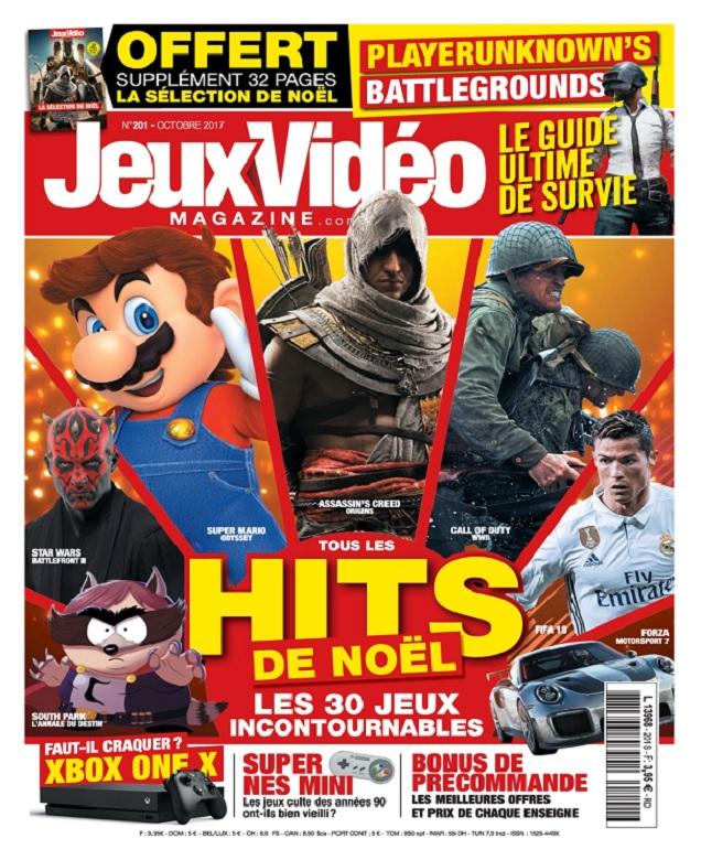 Jeux Vidéo Magazine N°201 – Octobre 2017
