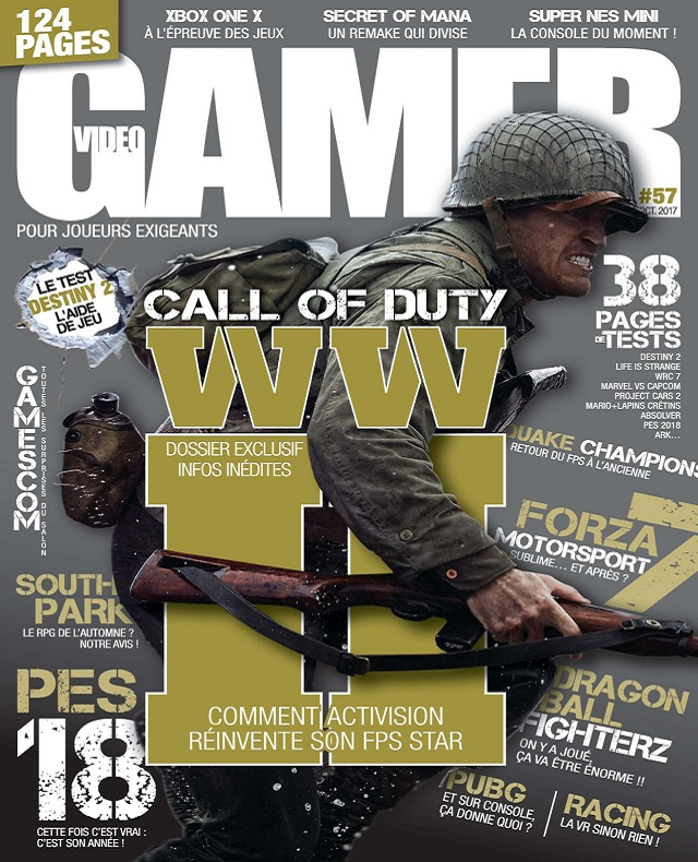 Video Gamer N°57 – Octobre 2017