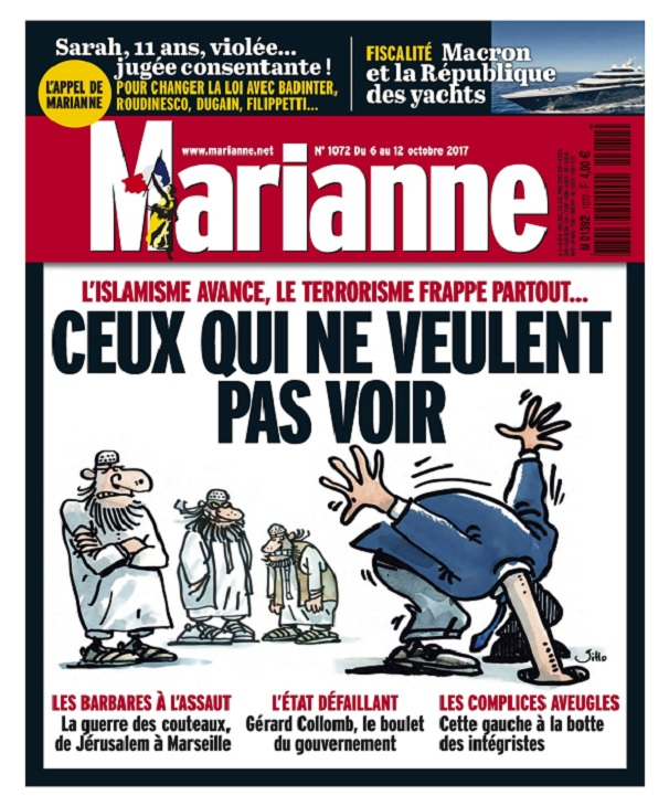 Marianne N°1072 Du 6 au 12 Octobre 2017