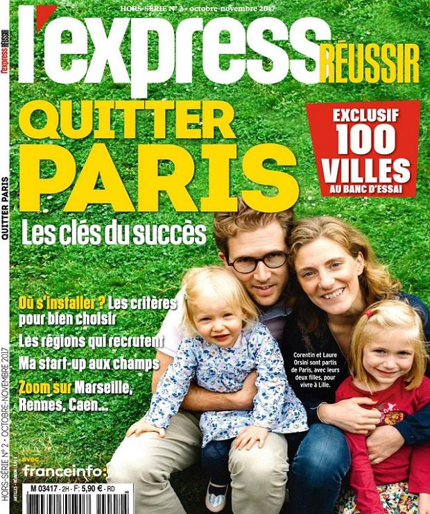 L'Express Réussir Hors Série N°2 – Octobre-Novembre 2017