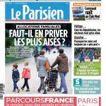 Le Parisien Du Lundi 9 Octobre 2017