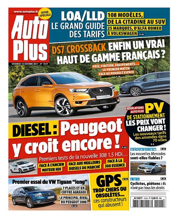 Auto Plus N°1519 Du 13 Octobre 2017