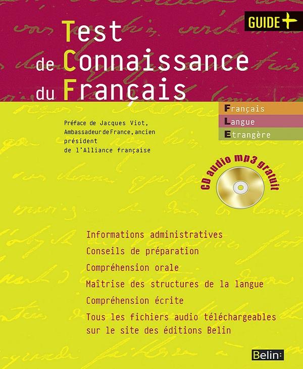 Test de connaissance du français – PDF +CD mp3