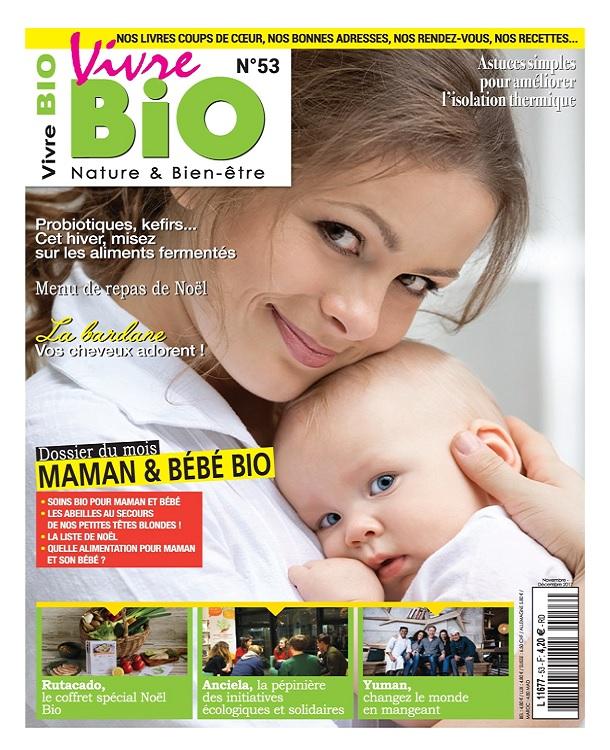 Vivre Bio N°53 - Novembre-Décembre 2017