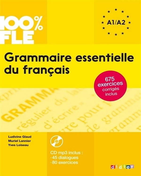 Grammaire essentielle du français A1/A2 + CD[mp3-128kbps]