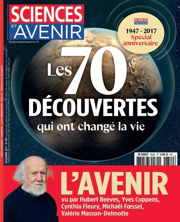 Sciences et Avenir N°849 – Novembre 2017