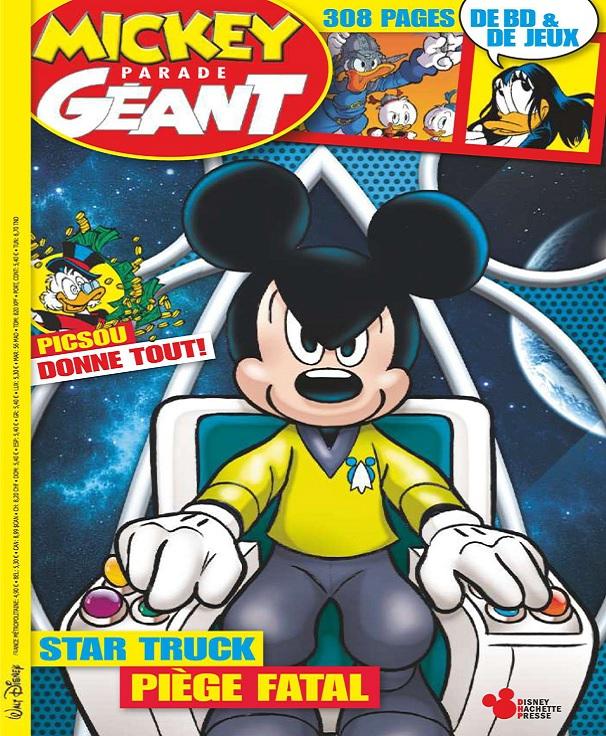 Mickey Parade Géant N°361 – Novembre 2017