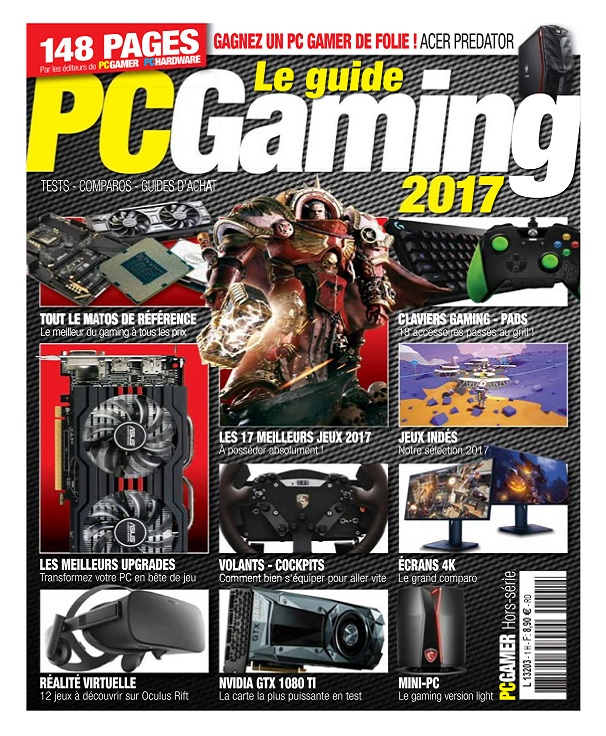 PC Gamer Hors Série N°2 – Le Guide PC Gaming 2017