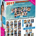 Collection Harlequin Azur - 2017 (55 Ebooks)