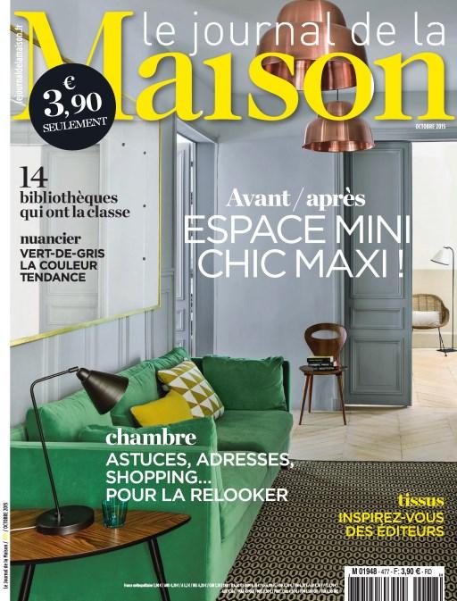 Le Journal De La Maison N°477 – Octobre 2015