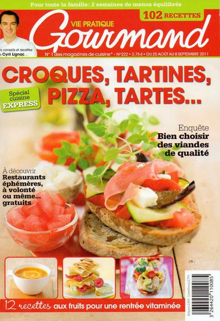Vie Pratique Gourmand N°222