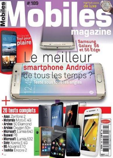 Mobiles Magazine N°189 – Mai-Juin 2015