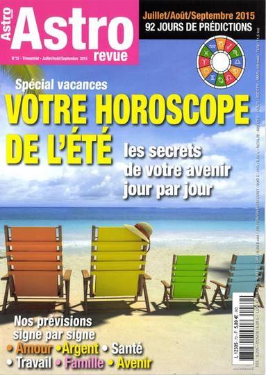 Astro Revue N°72 – Juillet-Septembre 2015