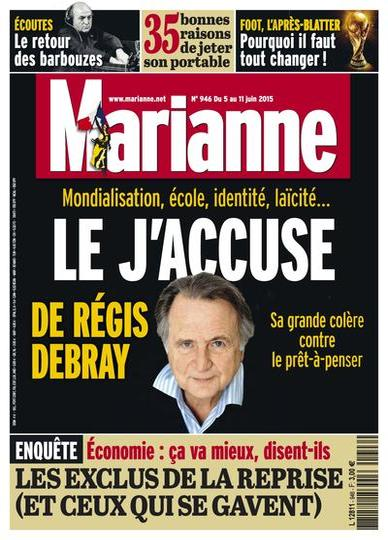 Marianne N°946 Du 5 au 11 Juin 2015