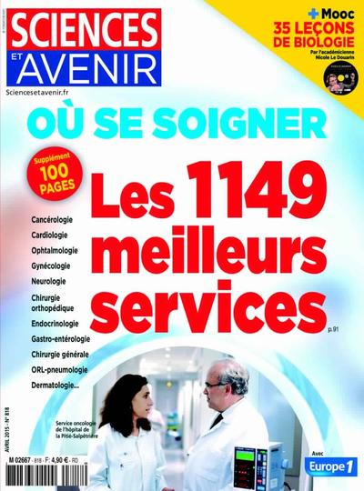 Sciences et Avenir N°818 – Avril 2015