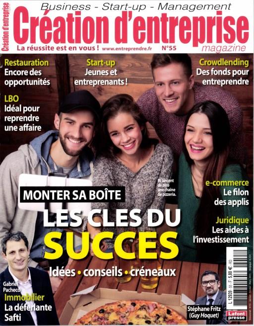 Création d'Entreprise N°55 – Janvier-Février 2016