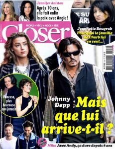 Closer N°502 Du 23 au 29 Janvier 2015