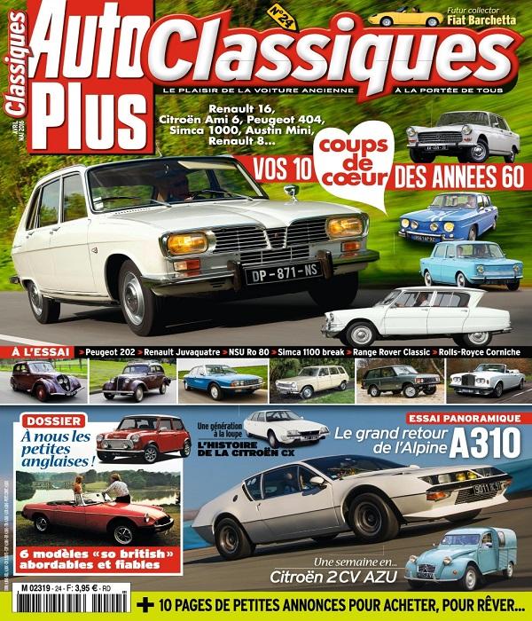 Auto Plus Classiques N°24 – Avril-Mai 2016