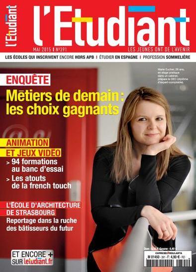 L'Etudiant N°391 – Mai 2015
