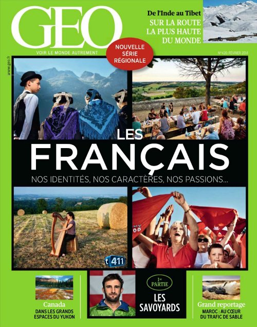 Géo N°420 – Les Français