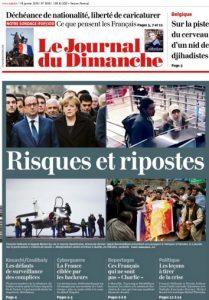 Le Journal du Dimanche N°3549 - 18 Janvier 2015