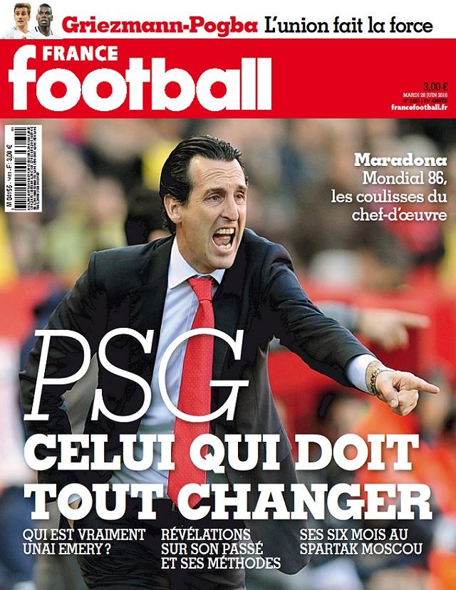 France Football N°3661 Du 28 Juin 2016