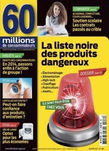 60 Millions De Consommateurs N°489