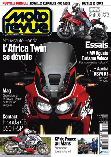 Moto Revue N°4004 Du 21 Mai 2015