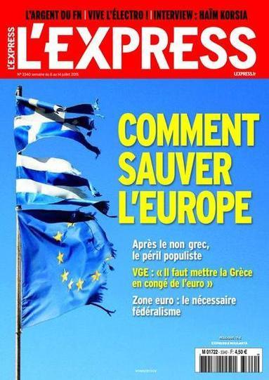 L'Express N°3340 Du 8 au 14 Juillet 2015