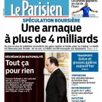 Le Parisien + Journal De France Du Jeudi 31 Mars 2016