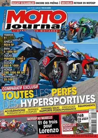 Moto Journal N°2149 Du 4 au 10 Juin 2015