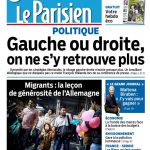 Le Parisien + Journal De Paris Du Lundi 7 Septembre 2015