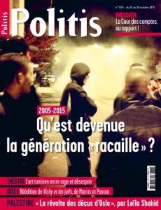 Politis N°1374 Du 22 au 28 Octobre 2015