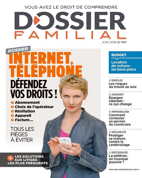 Dossier Familial N°497 – Juin 2016