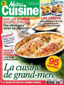 Maxi Cuisine N°95 - Janvier-Février 2015