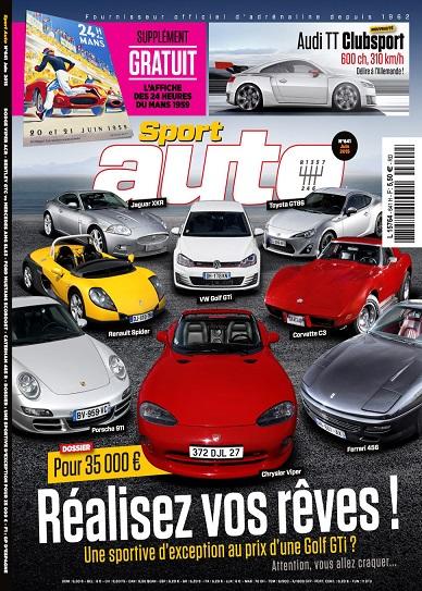 Sport Auto N°641 – Juin 2015