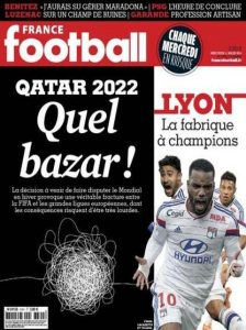 France Football N°3594 Du Mercredi 11 Mars 2015