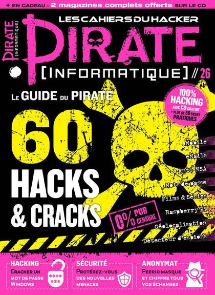 Pirate Informatique N°26 – Aout-Octobre 2015