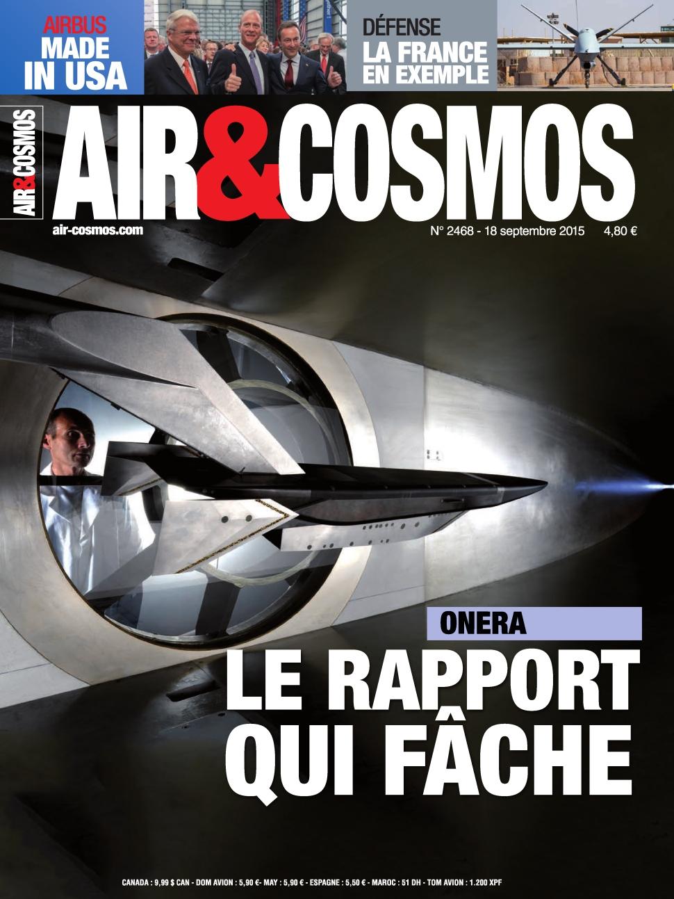 Air et Cosmos N°2468 Du 18 au 24 Septembre 2015