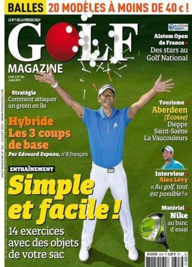 Golf Magazine N°303 – Juillet 2015