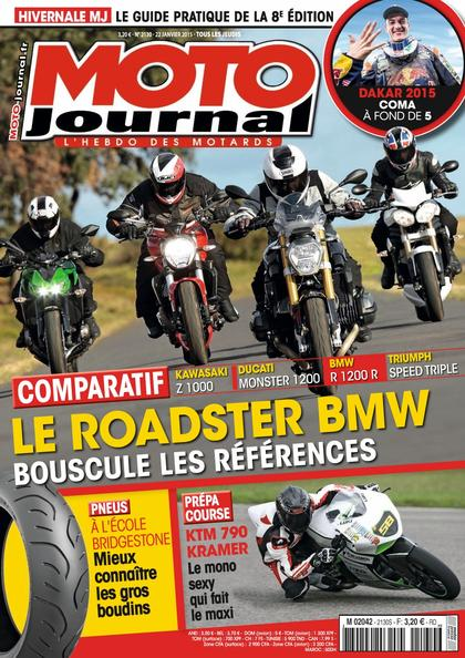 Moto Journal N°2130 Du 22 au 28 Janvier 2015