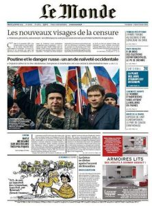 Le Monde Du Mardi 24 Février 2015