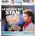 L'Equipe Du Lundi 8 Juin 2015