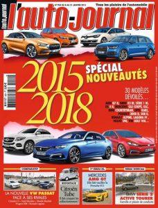 L'Auto Journal N°924 Du 8 au 21 Janvier 2015
